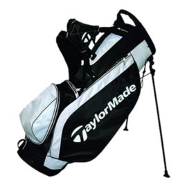 TaylorMade Ascend Stand Bag - Black/White