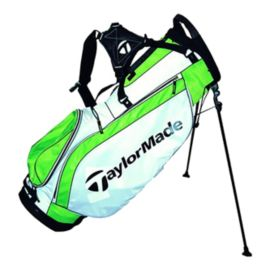 TaylorMade Ascend Stand Bag - White/Silver