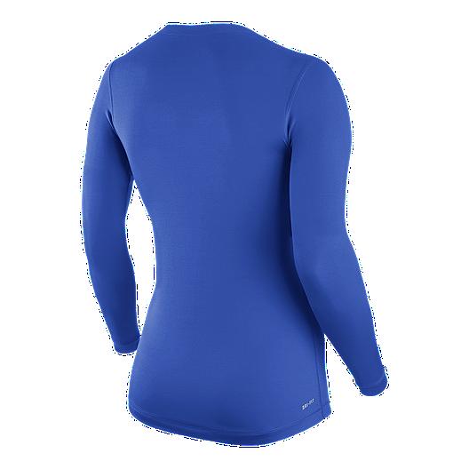 0355d1ec Nike Pro Women's Long Sleeve V-Neck Top   Sport Chek
