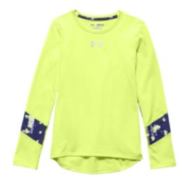 Under Armour ColdGear® Girls' Long Sleeve Top