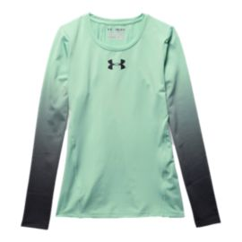 Under Armour HeatGear® Girls' Long Sleeve Top