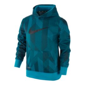 Nike KO 3.0 All Over Print Over-The-Head Kids' Hoodie