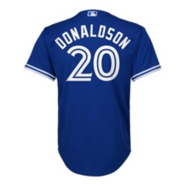 Toronto Blue Jays Little Kids' Josh Donaldson Cool Base Replica Home Baseball Jersey