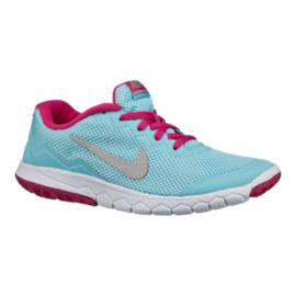 low priced bb86c c3a96 Nike Flex Experience 4 Girls Grade-School Running Shoes