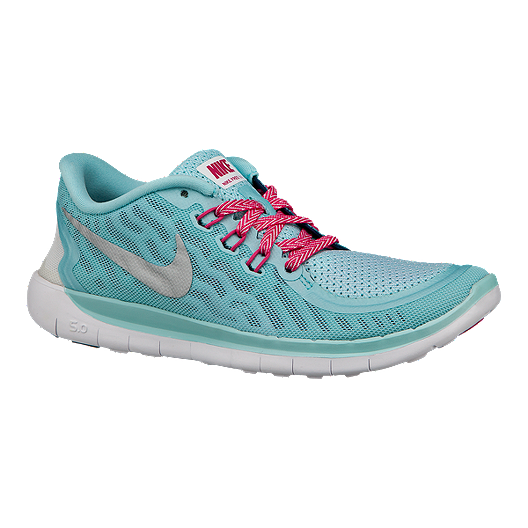 Nike Free 5.0 Girls' Grade School Running Shoes | Sport Chek