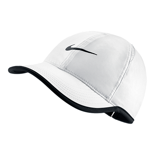 07e9fceee2aa4 Nike Feather Light Women's Cap - 100 - WHITE/BLACK