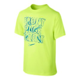 Nike Front Page Talent Kids' T Shirt