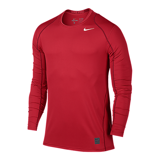 a17f6299d1b Nike Pro Cool Fitted Men s Long Sleeve Top