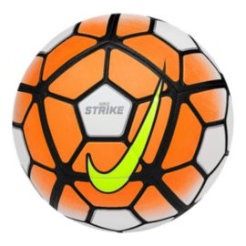 Nike Strike Soccer Ball - White/Orange/Black