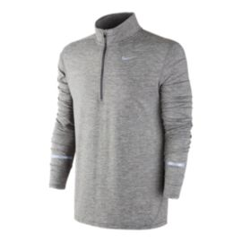 Nike Run Dri-FIT&trade&#x3b; Element Half Zip Men's Reflective Long Sleeve Top