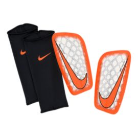 Nike Mercurial Flylite Shinguard - Clear/Orange