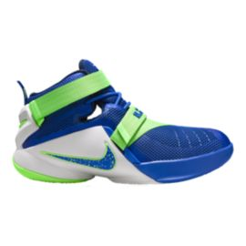 Nike LeBron Soldier LX Grade-School Kids' Basketball Shoes