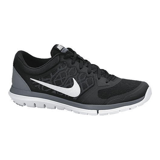new concept c353b cae43 Nike Men s Flex Run 2015 Running Shoes - Black White   Sport Chek