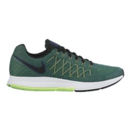 Nike Men's Air Zoom Pegasus 32 Running Shoes - Green/White