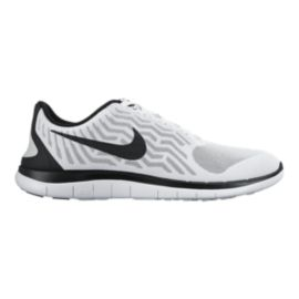 Nike Men's Free 4.0 V5 Running Shoes - White/Black