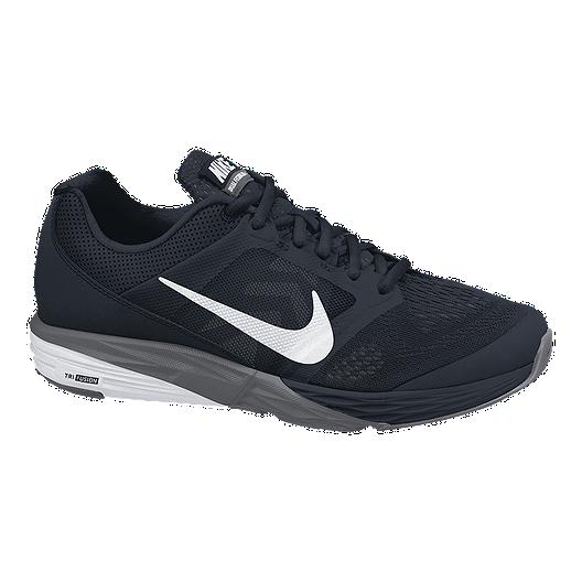 2fc36f50854f Nike Men s Tri Fusion Run Running Shoes - Black White Grey