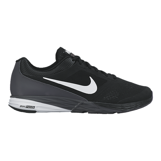 346be4469074 Nike Men s Tri Fusion Run Running Shoes - Black White Grey