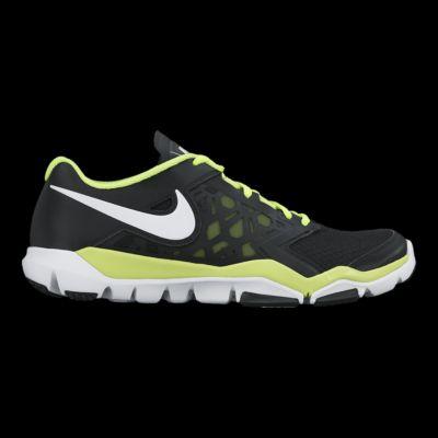 nike uomini flex supremo tr 4 formazione nero / verde / bianco da scarpe