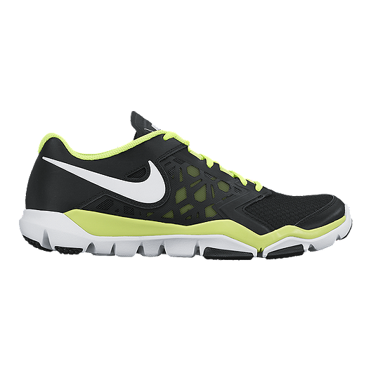 the best attitude 7f42f 9dd11 Nike Men s Flex Supreme TR 4 Training Shoes - Black Volt Green White    Sport Chek