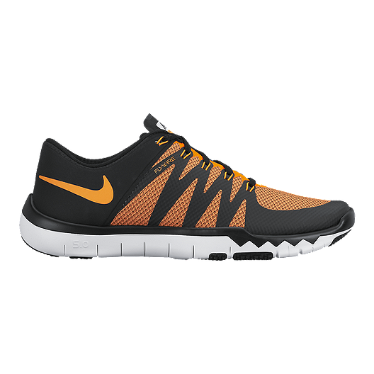 free shipping 933e2 0a090 Nike Men s Free Trainer 5.0 V6 Training Shoes - Black Orange   Sport Chek