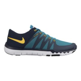 Nike Men's Free Trainer 5.0 V6 Training Shoes - Blue/Black/Yellow