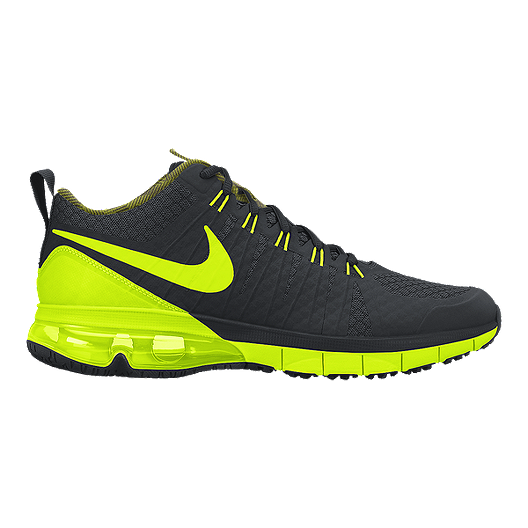 popular brand big sale skate shoes Nike Air Max TR180 Amp Men's Training Shoes - Black/Yellow ...