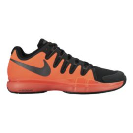 Nike Men's Zoom Vapor 9.5 Tennis Shoes - Black/Orange