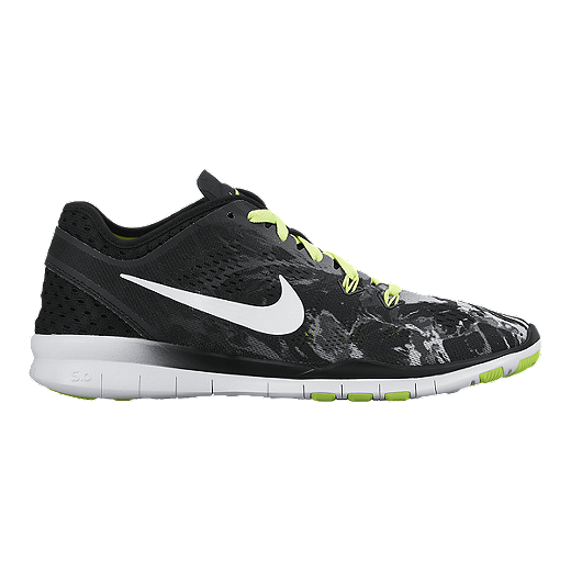 low cost 9f0bc e924a Nike Women's Free 5.0 TR Fit 5 Training Shoes - Black/White ...