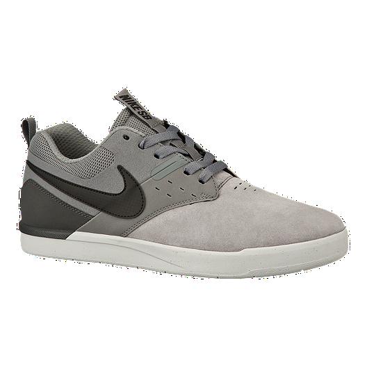 5d067beadfa3 Nike Men s SB Zoom Ejecta Skate Shoes - Grey Black