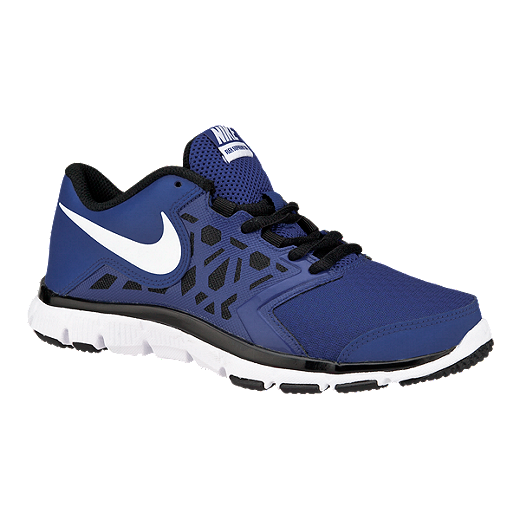 Nike Flex Supreme 4 Kids Blue Training Shoes