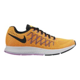 Nike Women's Air Zoom Pegasus 32 Running Shoes - Orange/Green/Black