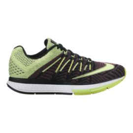 Nike Women's Air Zoom Elite 8 Running Shoes - Black/Green/Pink