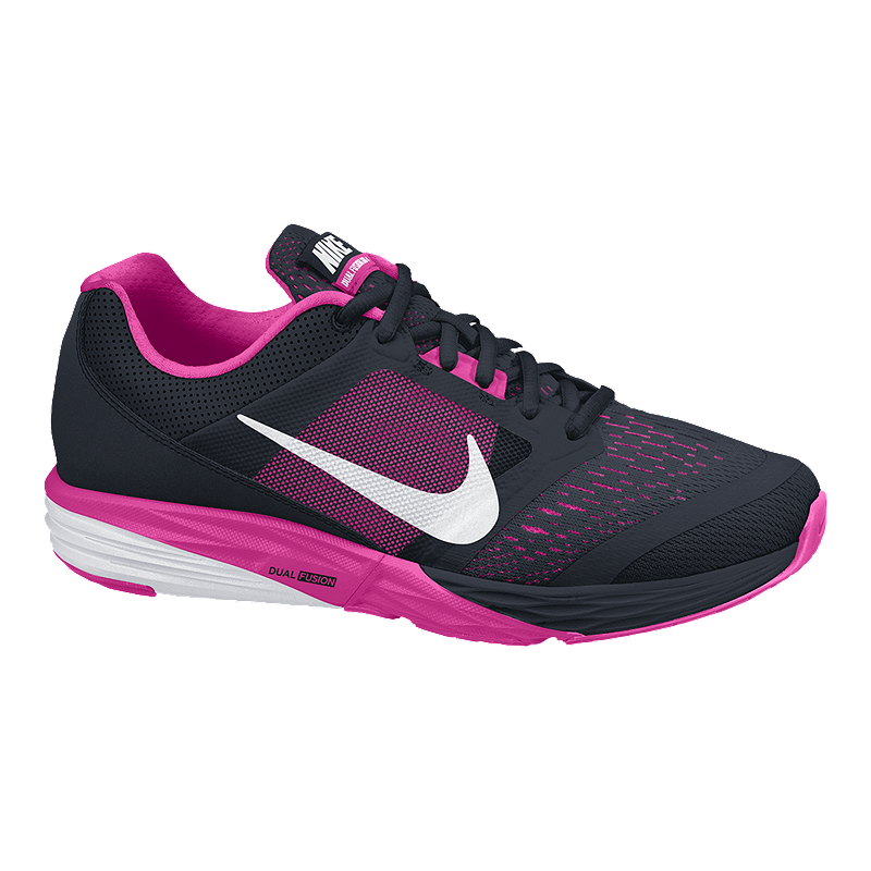 3c99f4c60daf Nike Women s Tri Fusion Running Shoes - Black Pink White