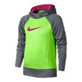 Nike Girls' KO 3.0 Over The Head Hoodie
