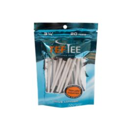 "Tef Tee 3 1/4"" 20 Pack - White"