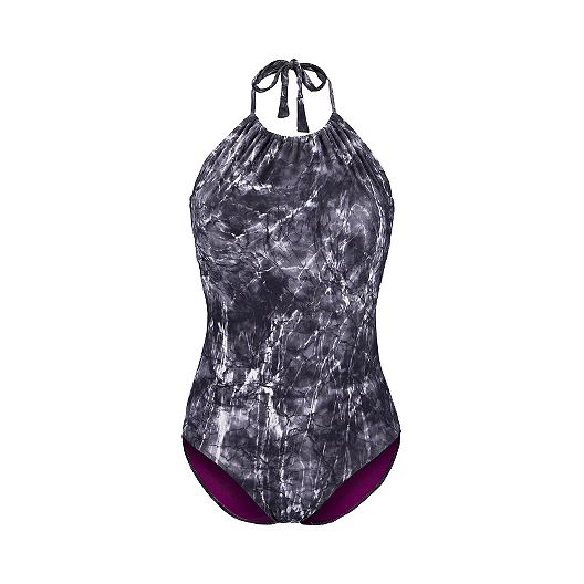 597d796c3d Everyday Shadows Printed Halter Women's One Piece Swimsuit | Sport Chek