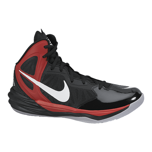 online store f981c 1462e Nike Men's Prime Hype DF Basketball Shoes - Black/Red ...