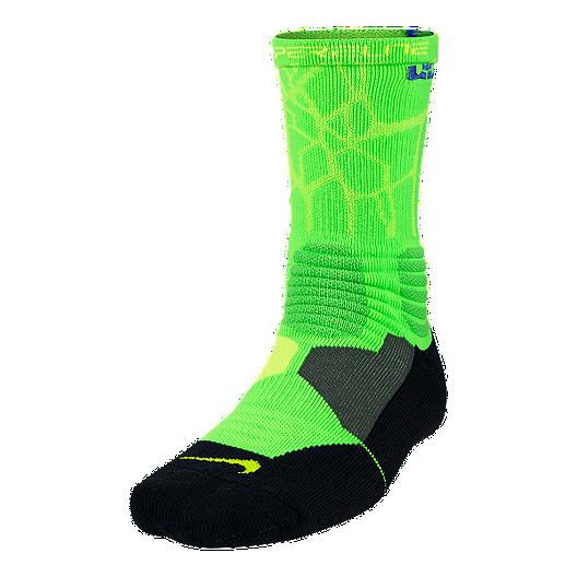 098d40b72d8b Nike LeBron Hyperelite Basketball Men s Crew Socks