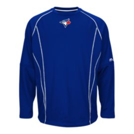 Toronto Blue Jays On Field Practice Pullover Top