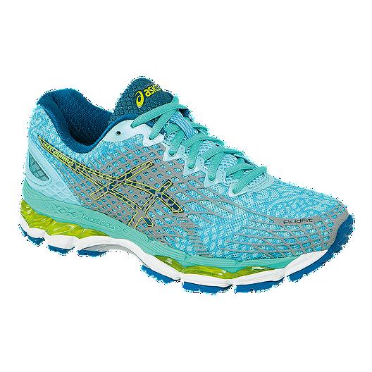 design de qualité 16707 2495d ASICS Women's Gel Nimbus 17 LS Running Shoes - Aqua Blue ...
