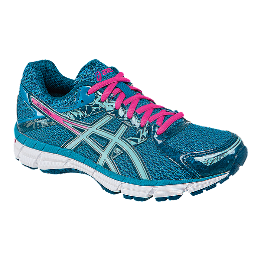 Asics Gel excite 3 White Blue Running Shoes