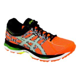 ASICS Men's Gel Cumulus 17 LS Running Shoes - Orange/Black Pattern