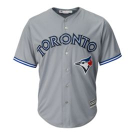 Toronto Blue Jays Cool Base Replica Gray Baseball Jersey