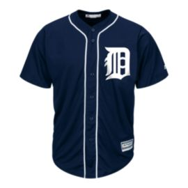 Detroit Tigers Cool Base Replica Navy Jersey