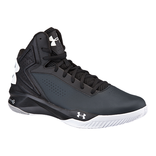 buy popular 581fc e658a Under Armour Men's Micro G Torch Basketball Shoes - Black ...