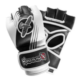 Hayabusa Ikusa Recast 4oz. MMA Gloves - Black/White