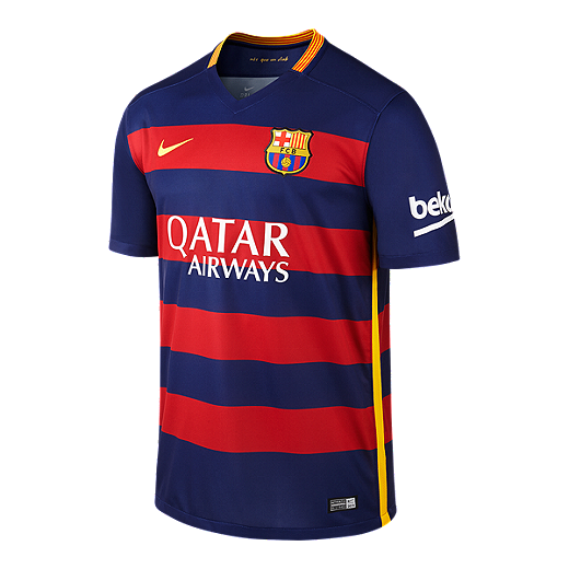 7be3ed74a06 FC Barcelona Home Stadium Jersey - BLUE