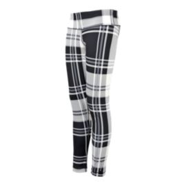 Reebok Yoga Women's Plaid Leggings
