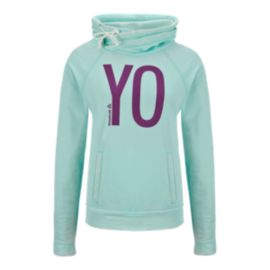 Reebok Studio Graphic Yo Cowl Women's Hoody