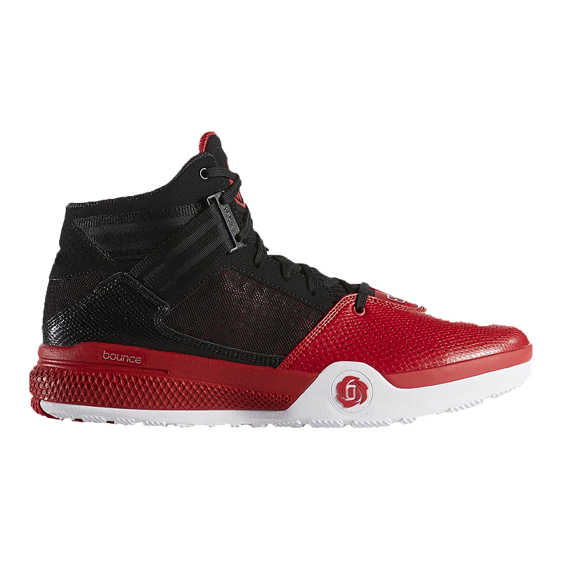 29c9a5d23e36 adidas Men s D Rose 773 4 Basketball Shoes - Black Red White